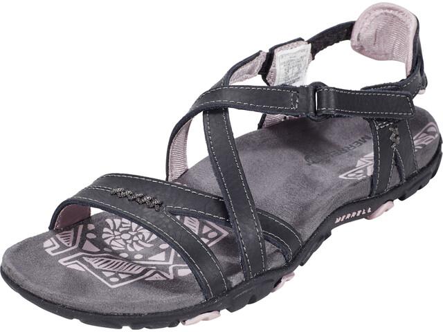 Merrell Sandspur Rose LTR Sandals Dame black/lilac